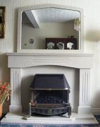 Victorian - Cream with over mantel